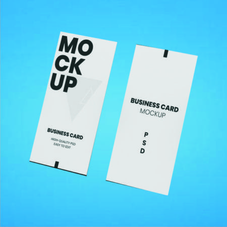 Slim Visiting Cards (Vertical 40x85mm)