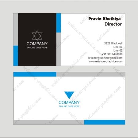 Slim Visiting Cards (Horizontal 85x40mm)
