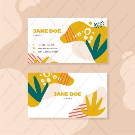 Standard Visiting Cards (Horizontal 92x54mm)